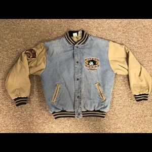 Vintage Mickey Mouse denim jacket RARE